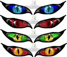 "4 Sets Evil Eye Decals Each Eye 2.25""x 5"" Model RC Airplane Wing Laptop ebox Car"
