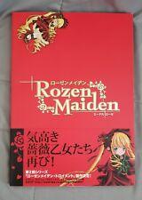 Rozen Maiden Edel Rose Art Book Peach Pit Illustration Anime Manga