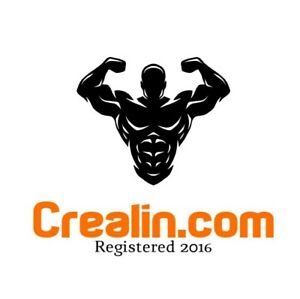 Crealin.com 5 Year Old One Word Fitness Brand Health Supplement Domain Website
