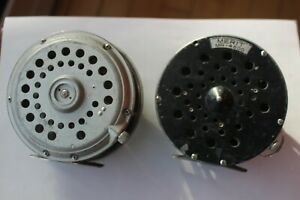 2 FLY REEL , MADE IN JAPAN , MERIT MR - 4600 AND UNMARKED