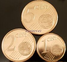 1 2 5 Euro Cent Kursmünze UNC - alle Länder u. Jahre / all countries a. years