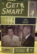 """Figurine  du chef dans la série TV """" MAX LA MENACE """"""""GET SMART"""" des années 60"""