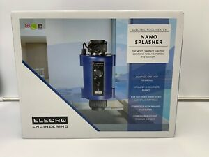ELECRO 3KW ELECTRIC TITANIUM NANO SWIMMING POOL HEATER - 3 PIN PLUG IN UNIT