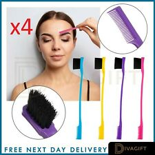 Professional Boar Edge Fixer Control Brush & Comb Double Sided FAST UK POST 4pc