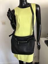 Sac Longchamp Kate Moss A Bandoulière En Cuir Noir