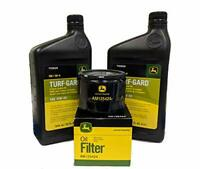 John Deere Original Equipment Oil Change Kit - (2) TY22029 + AM125424