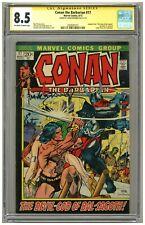 Conan the Barbarian 17 (CGC Signature Series 8.5) OW/W p; Frank Brunner (j#5237)