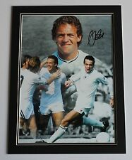 ALAN CURTIS Swansea City HAND SIGNED Autograph Photo Mount Display + COA