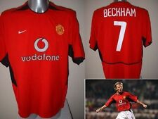 Manchester United David Beckham jersey shirt Per Adulti L football calcio Nike Utd