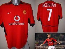 Manchester United David Beckham Jersey Camisa Adulto L Fútbol Nike Utd
