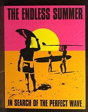 Endless Summer perfetto WAVE Tin Sign Surf Beach In Metallo Bar Vintage Wall Decor 30x40cm