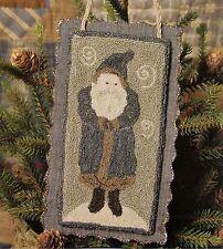 "Punchneedle Pattern by Need'l Love  ""Chalkware Santa"""