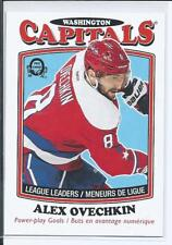 Alexander Ovechkin  16/17 OPC O-Pee-Chee  #650  League Leaders