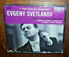 Russian Archives: Evegny Svetlanov (3-CD, 2012)