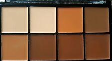 Makeup Revolution PRO HD Crema Contorno Palette medio scuro Correttore tavolozza