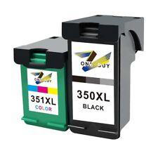 Set 2x DRUCKER PATRONE für HP J5780 J6480 J5730 J5785 J6424 J6410 350 XL 351 XL