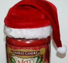 YANKEE CANDLE SANTA HAT FOR MEDIUM & LARGE JARS ~ GREAT FOR GIFTS