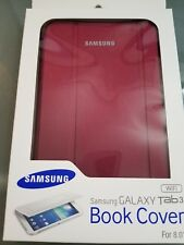 SAMSUNG GALAXY TAB 3 BOOK COVER for 8.0