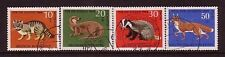 ANIMALS on stamps....  Germany  1968  animals set used
