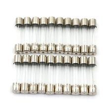 20Pcs 6x30mm 250V 10A Fast Blow Type Glass Tube Fuses Pip JG