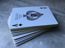 Plastic Playing Cards with Golden Edges & Plastic Case