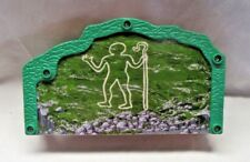 Thomas The Train Wooden Track Green Bridge with Cave Painting of Man