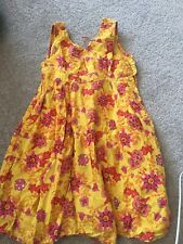 Girls catimini  Yellow Floral Sundress Stunning Size 5