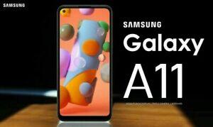 """Samsung Galaxy A11 2GB 32GB SM-A115F/DS UNLOCKED 6.4"""" Dual SIM 2020 MODEL NEW"""