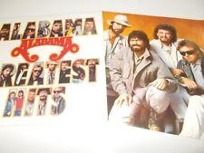 ALABAMA - GREATEST HITS - OZ 10 TRK VINYL LP + INNER - HARD ROCK - SOUTHERN ROCK