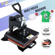 12x10 900w Heat Press Machine Professional T Shirt Press For Shirts Pads More