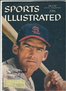 Wally Moon St. Louis Cardinals Autograph Sports Illustrated Cover*1120