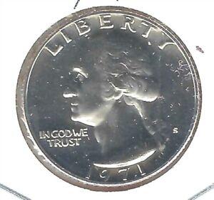 1971-S San Francisco 25 Cent Proof  Washington Quarter Coin!