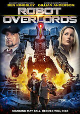 Robot Overlords DVD, 2015 Ben Kingsley Gillian Anderson