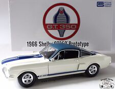 ACME 1966 Shelby GT 350 Prototype Vinyl Roof 1/564 1:18 Scale Diecast Model Car