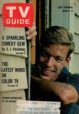 1964 TV Guide March 7 - Richard Chamberlain; Dogs of TV; Bethel Leslie;Queen Day