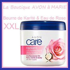BEURRE de Karité & Rose Creme Nourrissante Mains Visage Corps AVON: MEGA POT XXL