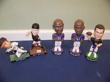 Baltimore Ravens & Baltimore Orioles bobblehead lot-Flacco, Markakis, Weiters+