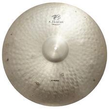 "Zildjian K1114 22"" K Constantinople Bounce Ride Drumset Bronze Cymbal - Used"