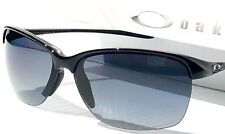 NEW* Oakley Unstoppable Black w POLARIZED Grey Women's Sunglass oo9191-05