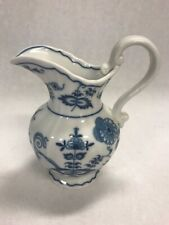 Vintage BLUE DANUBE Pitcher box mark Japan 6 inch Onion Mid Century