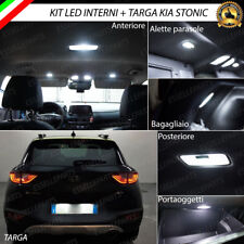 KIT FULL LED INTERNI KIA STONIC CONVERSIONE COMPLETA + LUCI TARGA 6000K CABBUS