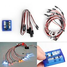 No Solder Realistic 12-Led Lighting Kit for Rc Cars Trucks 1/10th Scale Smaller
