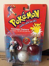 Original Pokemon Jesse And Meowth Muy Rara Figura De Sellado The