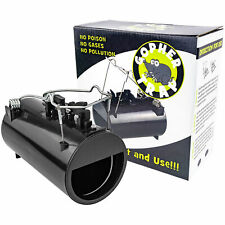 Black Hole Gopher & Rodent Trap Gophers Moles Rats Rodent Easy Pest Control NEW