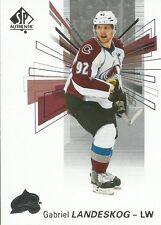 Gabriel Landeskog #45 - 2016-17 SP Authentic - Base