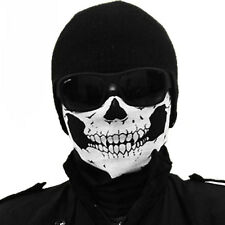 Multi Use Skull Motorcycle Bike Helmet Scarf Neck Face Mask Ski Sport HeadwearQ