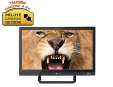 """TELEVISOR NEVIR 7412 TV 16"""" USB HDMI Negra 12V CAMION·CARAVANA·BARCO -Top ventas"""