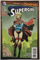 Supergirl #34 Superman Doomed 1st Print The New 52 VF+ 8.5 WP DC Comics 2014