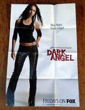 DARK ANGEL Promotional Poster 2001 Promo Jessica Alba James Cameron