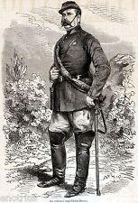 Battaglia di Milazzo: Ferdinando Beneventano del Bosco,Comandante Borbonico.1860